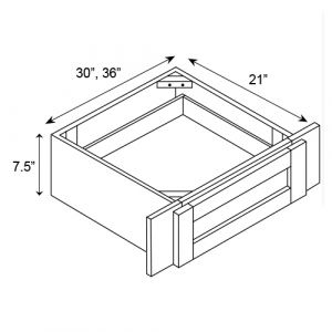 "Knee Drawer 30""/36""W