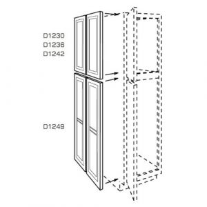 1 Decorative Panel/Dummy Door for a Pantry Tall Cabinet