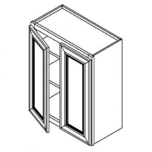 "Double Door Wall Cabinet 24""W