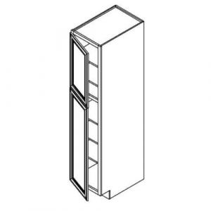 "1  Door Tall Pantry Cabinet w/o Drawer 18""W