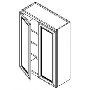 "Double Door Wall Cabinet 27""W