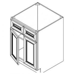 "2 Door Sink Base Cabinet 33""W