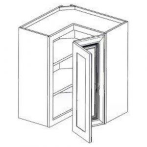 "Easy Reach Wall Cabinet  24""W